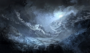 speed_painting__night_mountain_by_novum1-d50yiqq